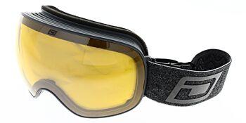 Dirty Dog Ski Goggles Mutant 2.0 Grey Silver Mirror/Yellow DD54224