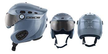 Dirty Dog Snow Helmets Apache Dark Silver X Large 46173