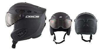 Dirty Dog Snow Helmets Apache Matte Black Large 46261