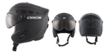 Dirty Dog Snow Helmets Apache Matte Black Medium 46260