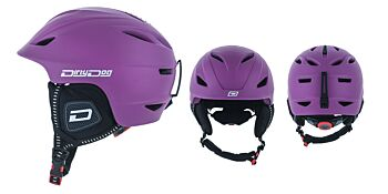 Dirty Dog Snow Helmets Eclipse Matte Purple M