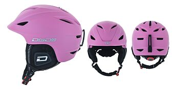 Dirty Dog Snow Helmets Eclipse Pastel Pink L