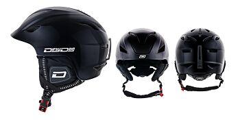 Dirty Dog Snow Helmets Eclipse Shiny Black L