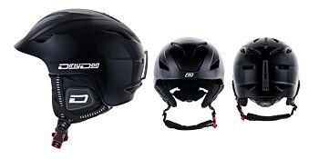 Dirty Dog Snow Helmets Eclipse Shiny Black M