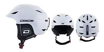 Dirty Dog Snow Helmets Eclipse Shiny White L