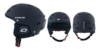 Dirty Dog Snow Helmets Orbit Matte Black L
