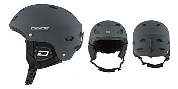 Dirty Dog Snow Helmets Orbit Matte Dark Grey Large 46289