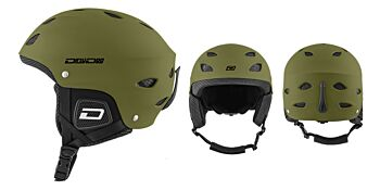 Dirty Dog Snow Helmets Orbit Matte Khaki Medium 46294