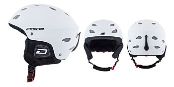 Dirty Dog Snow Helmets Orbit Matte White L