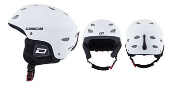 Dirty Dog Snow Helmets Orbit Matte White XL