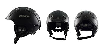 Dirty Dog Snow Helmets Saturn Matte Black Small 46308
