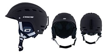 Dirty Dog Snow Helmets UFO Black White S