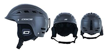 Dirty Dog Snow Helmets UFO Shiny Dark Silver L
