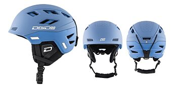 Dirty Dog Snow Helmets Zodiak Pacific Blue Medium 46257
