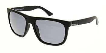 Dirty Dog Sunglasses Quag Satin Black Grey Polarised 53469
