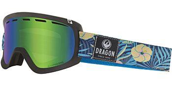Dragon Goggles D1 OTG Aloha/Lumalens Green Ion 34798 003