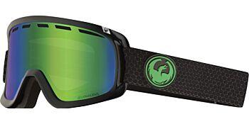 Dragon Goggles D1 OTG Split/Lumalens Green Ion 34798 333