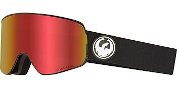 Dragon Goggles NFX2 Black/Lumalens Red Ion & Lumalens Rose 28605 332