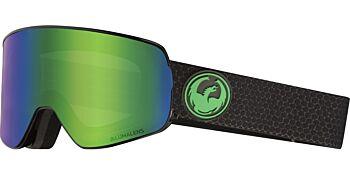 Dragon Goggles NFX2 Split/Lumalens Green Ion & Lumalens Amber 28605 333