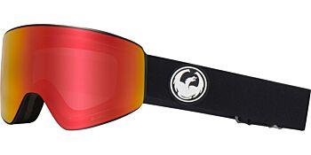 Dragon Goggles PXV Black/Lumalens Red Ion & Lumalens Rose 38280 002