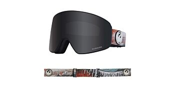 Dragon Goggles PXV Bryan Iguchi Signature/Lumalens Dark Smoke & Lumalens Flash Blue 38280 025