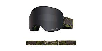 Dragon Goggles X2 Icon Camo/Lumalens Dark Smoke & Lumalens Rose 40454 006