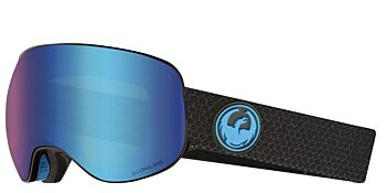 Dragon Goggles X2 Split/Lumalens Blue Ion & Lumalens Amber 28631 334