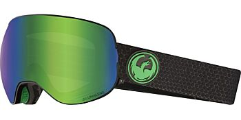 Dragon Goggles X2 Split/Lumalens Green Ion & Lumalens Amber 28631 333