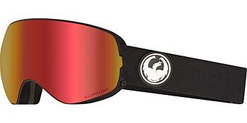 Dragon Goggles X2s Black/Lumalens Red Ion & Lumalens Rose 30786 332