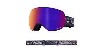 Dragon Goggles X2S Lavender/Lumalens Purple Ionized & Lumalens Amber 40455 502