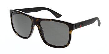 Gucci Sunglasses GG0010S 003 Polarised 58