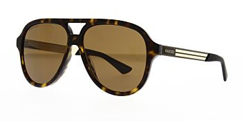 Gucci Sunglasses GG0688S 002 Polarised 59