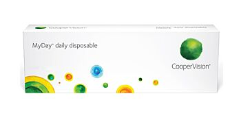 MyDay Daily Disposable Contact Lenses +1.00