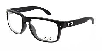 Oakley Glasses Holbrook RX Satin Black/Chrome  OX8156-0154