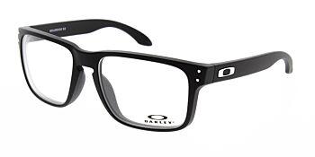 Oakley Glasses Holbrook RX Satin Black/Chrome  OX8156-0156