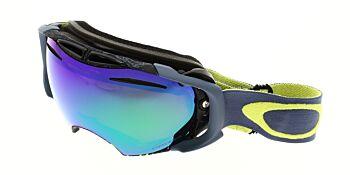 Oakley Goggles Airbrake Military Recon Citrus Prizm Jade/Prizm Sapphire OO7037-5600