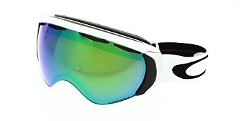 Oakley Goggles Canopy Matte White/Prizm Jade Iridium OO7047-6500