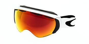 Oakley Goggles Canopy Matte White/Prizm Torch Iridium OO7047-5000