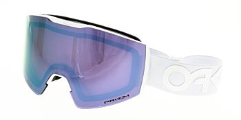 Oakley Goggles Fall Line XM Factory Pilot Whiteout Prizm Sapphire Iridium OO7103-0600