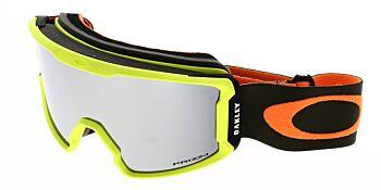 Oakley Goggles Line Miner Snow Obsessive Lines Laser Prizm Black Iridium OO7070-2900