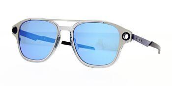 Oakley Sunglasses Coldfuse Satin Chrome Prizm Sapphire OO6042-0452