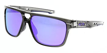 Oakley Sunglasses Crossrange Patch Grey Smoke Violet Iridium OO9382-0260