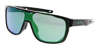 Oakley Sunglasses Crossrange Shield Black Ink Prizm Jade Iridium OO9387-0331