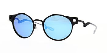 Oakley Sunglasses Deadbolt Satin Light Steel Prizm Sapphire OO6046-0250