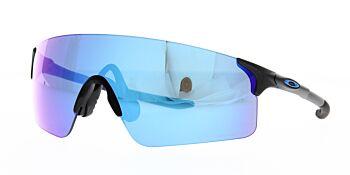 Oakley Sunglasses Evzero Blades Steel Prizm Sapphire Iridium OO9454-0338