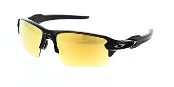 Oakley Sunglasses Flak 2.0XL Midnight Polished Black Prizm 24K Polarised OO9188-9559
