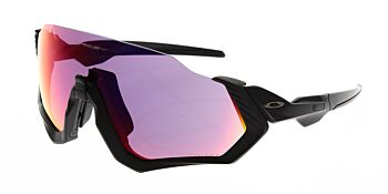 Oakley Sunglasses Flight Jacket Matte Black/Polished Black Prizm Road OO9401-0137