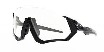 Oakley Sunglasses Flight Jacket Steel Black Ink Clear Black Iridium Photochromic OO9401-0737