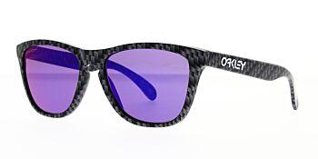 Oakley Sunglasses Frogskins Carbon Fiber Prizm Road OO9013-J255