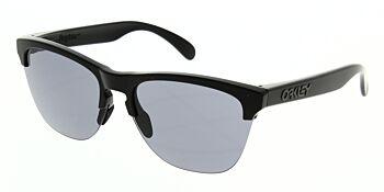 Oakley Sunglasses Frogskins Lite Matte Black Grey OO9374-0163
